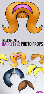 hair style photo booth photo booth props big hair styles moms and crafters
