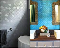 bathroom stencil ideas design challenge colorful vs neutral stencil ideas royal design