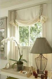 Kitchen Window Curtains by Diy Wood Valance An Inexpensive And Easy Window Treatment
