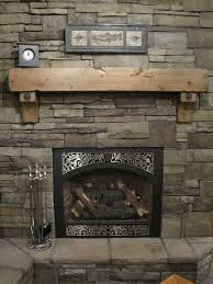rustic fireplace mantel binhminh decoration