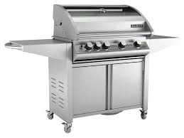 Sunco Kitchen Cabinets Sc60 4 Burner Stainless Steel Bbq With Cabinet Trolley Sunco