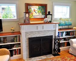 good looking ideas of stacked stone fireplace designs interior