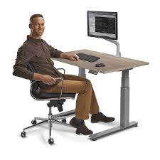 Sit Stand Office Desk by 48