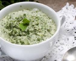 recette de cuisine sans sel recette de crème de concombre et menthe sans sel