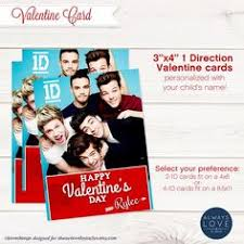 one direction valentines ten printable one direction cards by btadesigns on etsy