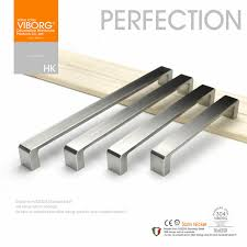 stainless steel kitchen cabinet hardware 3 pieces 128mm viborg deluxe solid sus304 stainless steel casting