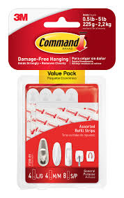 command refill strips white 8 small 4 medium 4 large pack command refill strips white 8 small 4 medium 4 large pack walmart com