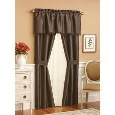 Mainstays Ella Window Set Walmartcom - Living room curtain sets