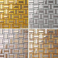 Kitchen Wall Tile Backsplash Online Get Cheap Stainless Tile Backsplash Aliexpress Com