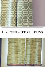 Diy Cheap Curtains Diy Insulated Curtains How To Create Insulated Blackout Curtains