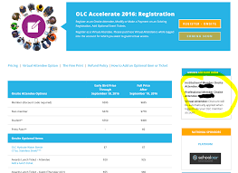 olc accelerate where do i find the member discount code for