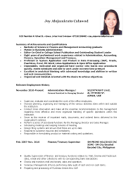 Actor Resume Format How To Write Resume With No Experience Sample
