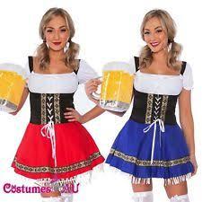 Beer Maid Wench Costume Oktoberfest Couple Gretchen German Fancy by Women U0027s Oktoberfest Costumes Ebay