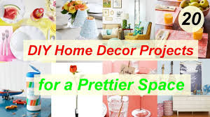 20 diy home decor projects for a prettier space youtube