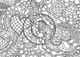 17 images of beautiful psychedelic art coloring page abstract