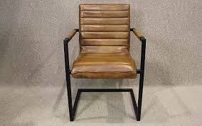 Tan Leather Office Chair Tan Leather Armchair With Steel Frame A Wonderful Leather Chair With