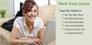 work at home part time home based work from