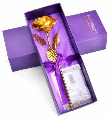 amazon com zjchao gold foil rose best gift for her on valentine u0027s