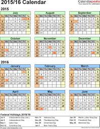 2015 Yearly Calendar Template Word