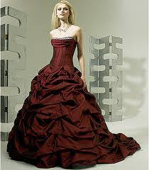 wedding dress maroon 1 maroon color alternative wedding dress 2014 adworks pk