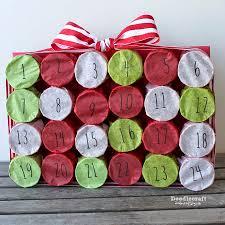doodlecraft tp roll christmas countdown advent calendar