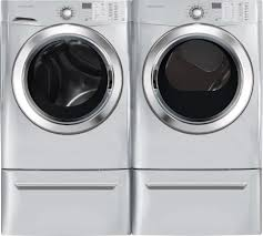 Discount Frigidaire Ffle4033qw 9 3 Cu Ft White Electric Washer Dryer Combo Washer Frigidaire Stackable Washer Dryer S564181252864580730 P61