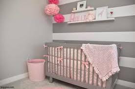 idée chambre bébé fille idee deco chambre bebe fille gris et idées de décoration