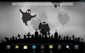 halloween ghost live wallpaper android apps on google play