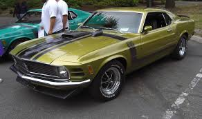 Black And Lime Green Mustang Medium Lime 1970 Boss 302 Ford Mustang Fastback Mustangattitude