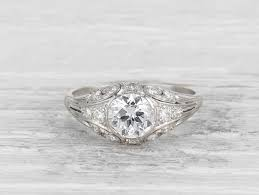 edwardian engagement rings vintage engagement rings erstwhile jewelry nyc