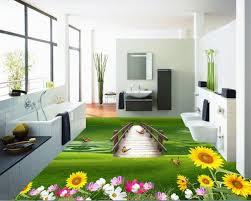 floor plants home decor beibehang papier peint home decor painting advanced wallpaper