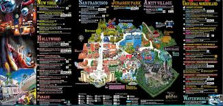 Universal Orlando Maps by Mini Angels