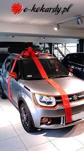 new car gift bow bow on a car gift suzuki