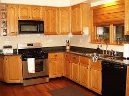 appliance kitchen countertop ideas with oak cabinets kitchen