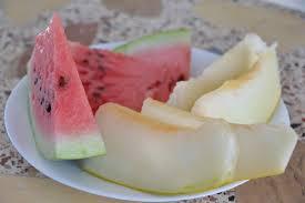 cuisine sermes no pot ser més estiu ja hi ha síndries i melons de l hort gust