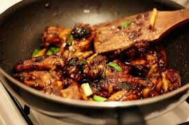 cuisine chinoise porc recette porc au caramel cuisine chinoise