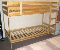 Solid Pine Bunk Beds Ikea Mydal Solid Pine Bunk Beds Auction Details On Boys Rooms