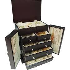 gunther mele natasha jewelry box java jewelry boxes best buy