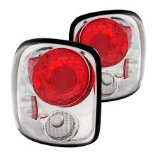 euro tail lights for chevy silverado anzo chevy silverado stepside 1999 2004 chrome red euro tail lights