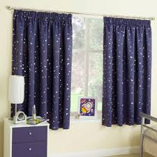 stars at night blockout thermal curtains for kids children s bed