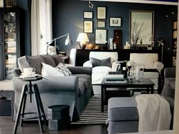 Grey Living Room Ideas by Ikea Living Room Light Blue Grey Large Ottoman Kade Moser