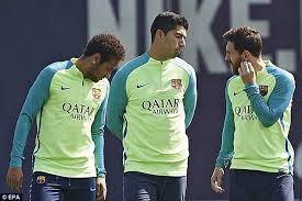 lionel messi in barcelona training ahead of osasuna game daily