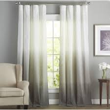 livingroom curtain modern curtains and drapes allmodern