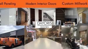 Modern Custom Furniture by Dayoris Doors Manufactures And Installs Italian Modern Doors