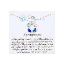 sea glass bangle bracelet stacking bracelets uncommongoods