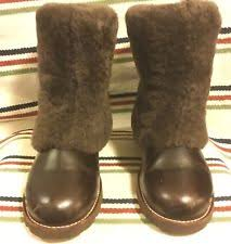 s ugg australia brown emalie boots ugg australia leather wedge booties for ebay
