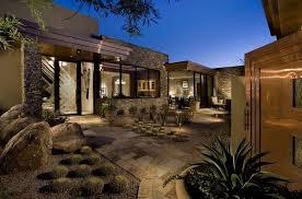 splendid desert landscaping plants with pool for modern style