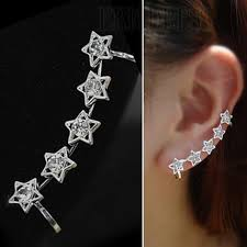 clip on earring hollow out design s ear clip earring earrings ericdress