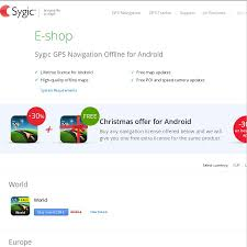 sygic gps navigation for android 30 off get 1 extra licence