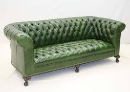Leather Sofas And Loveseats by Best 25 Green Leather Sofa Ideas On Pinterest Green Leather